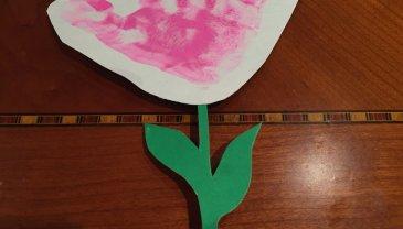 Отчёт по занятию Цветочек для мамы в Wachanga!