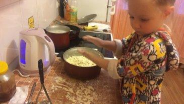 Отчёт по занятию Юный помощник на кухне в Wachanga!