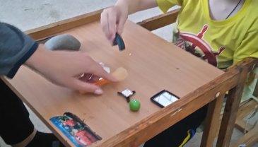 Отчёт по занятию Опыт с магнитом в Wachanga!