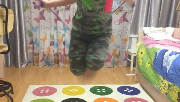 Отчёт по занятию Научите ребенка прыгать на скакалке! в Wachanga!