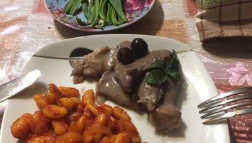 Отчёт по занятию Ломтики мяса, тушеные в смородиновом соусе в Wachanga!