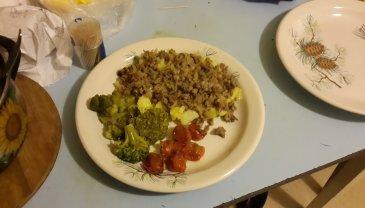 Отчёт по занятию Рецепты для кормящей мамы: «Запеканка из фарша с овощами»  в Wachanga!
