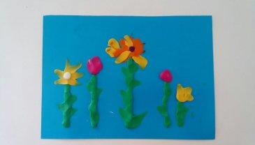 Отчёт по занятию Цветочная полянка в Wachanga!