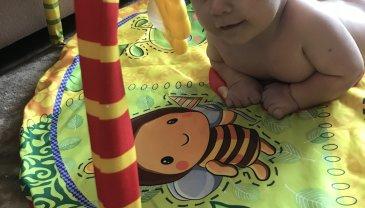 Отчёт по занятию Развивающий коврик-подсолнух в Wachanga!