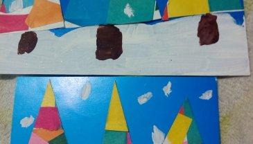 Отчёт по занятию Разноцветные ёлочки в Wachanga!