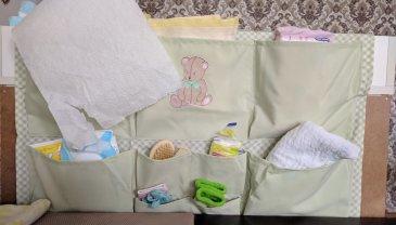 Отчёт по занятию Кармашки для детской кроватки в Wachanga!