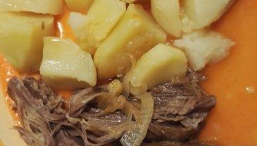 Отчёт по занятию Рецепты для кормящей мамы: «Говядина тушеная»  в Wachanga!