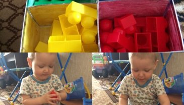 Отчёт по занятию Сортировка игрушек в Wachanga!