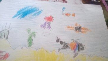 Отчёт по занятию Порисуйте цветными карандашами в Wachanga!