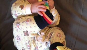 Отчёт по занятию Разноцветные носочки в Wachanga!