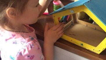Отчёт по занятию Смастерите вместе с ребёнком скворечник в Wachanga!
