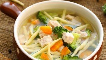 Отчёт по занятию Полезные рецепты: «Суп из курицы» в Wachanga!