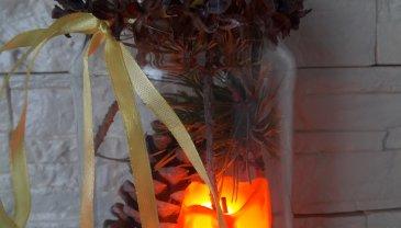 Отчёт по занятию Новогодние подсвечники в Wachanga!