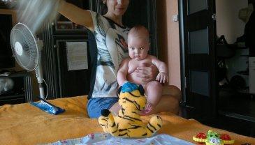 """Отчёт по занятию Поиграйте с малышом в игру """"Приди-уйди""""  в Wachanga!"""