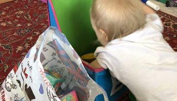 Отчёт по занятию Поиграйте с малышом в игру «Сортировка» в Wachanga!
