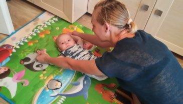 """Отчёт по занятию Поиграйте с малышом в игру """"Вот какой ты большой!""""  в Wachanga!"""