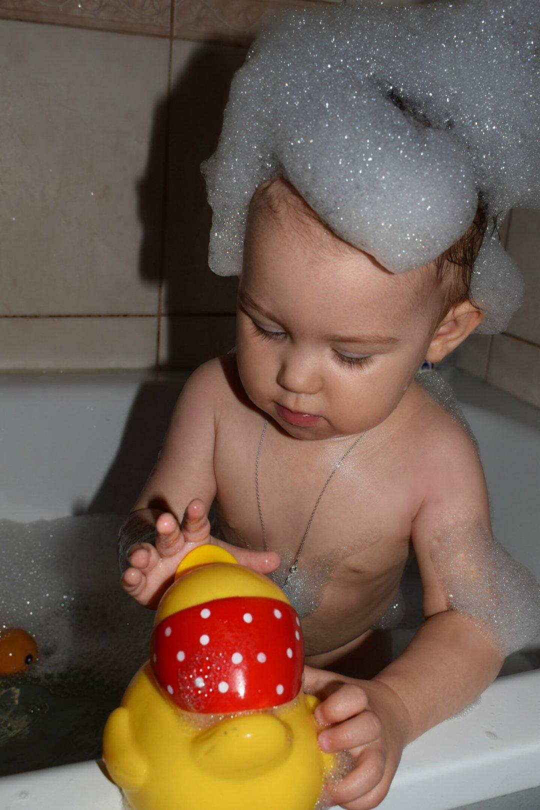 Отчёт по занятию Устройте для малыша ванну с пеной в Wachanga!