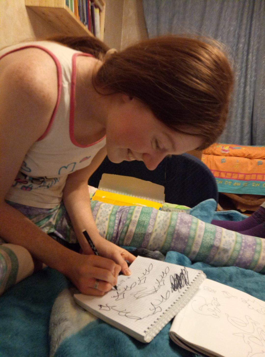 Отчёт по занятию Линейное рисование в Wachanga!