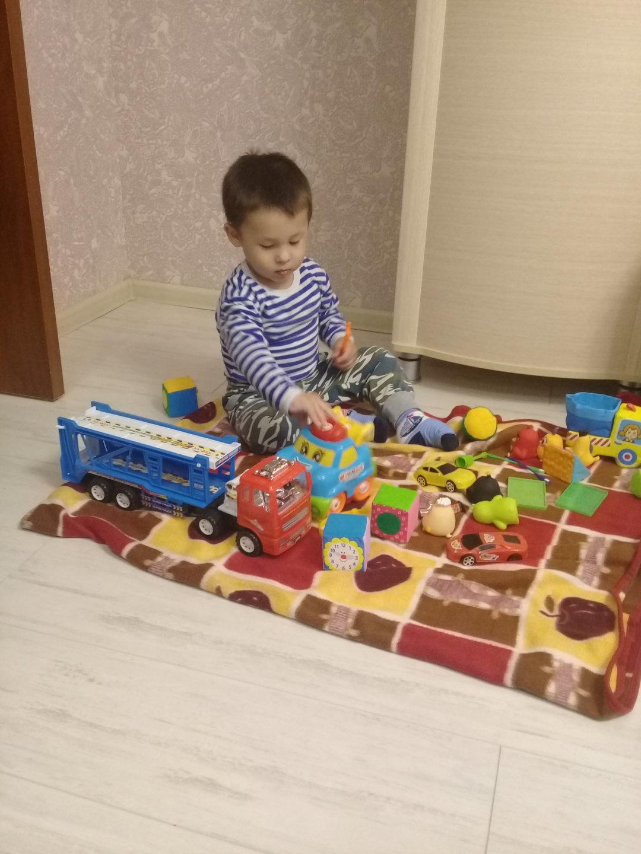 Отчёт по занятию Поиграйте с машинками! в Wachanga!