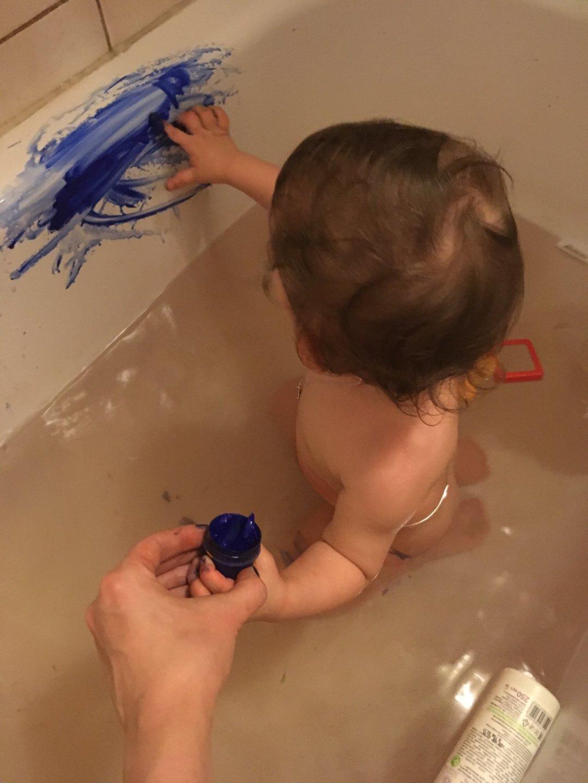 Отчёт по занятию Первые рисунки в ванной в Wachanga!