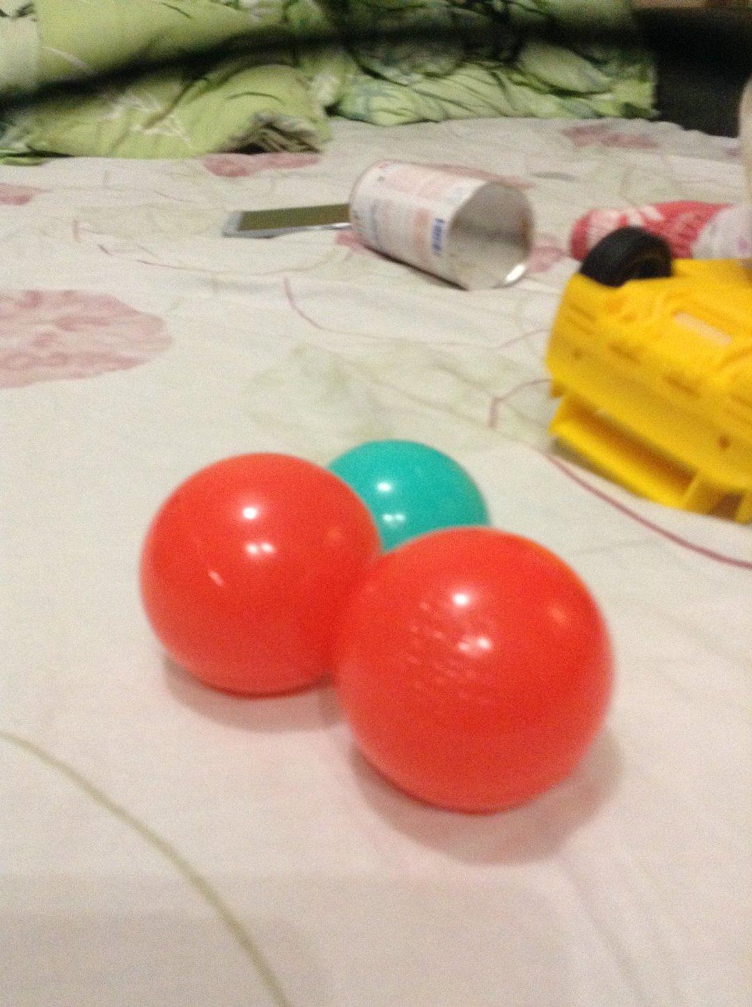 Отчёт по занятию Поиграйте с теннисными шариками в Wachanga!