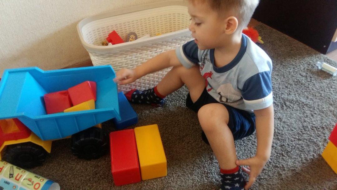Отчёт по занятию Игры с деревянными кубиками в Wachanga!