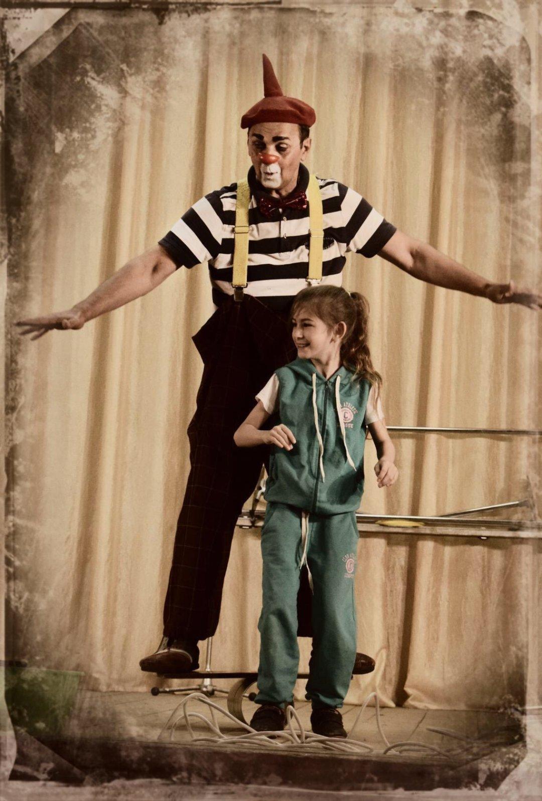 Отчёт по занятию Сходите с ребенком в цирк в Wachanga!
