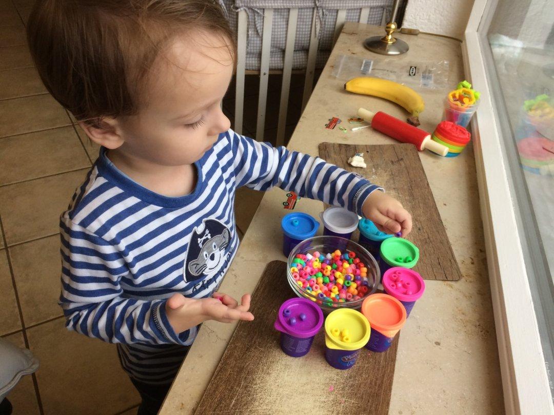 Отчёт по занятию Цветные пуговицы в Wachanga!