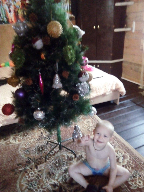 Отчёт по занятию Нарядите новогоднюю ёлку всей семьей! в Wachanga!