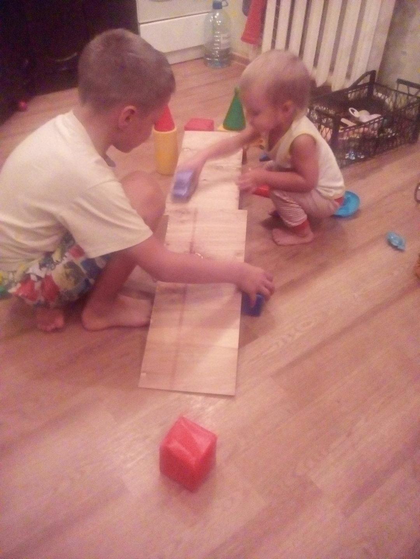 Отчёт по занятию Поиграйте с ребенком в конструктор в Wachanga!