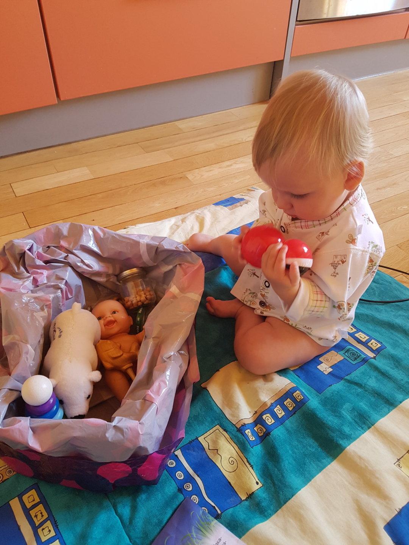 Отчёт по занятию Как играет восьмимесячный малыш в Wachanga!