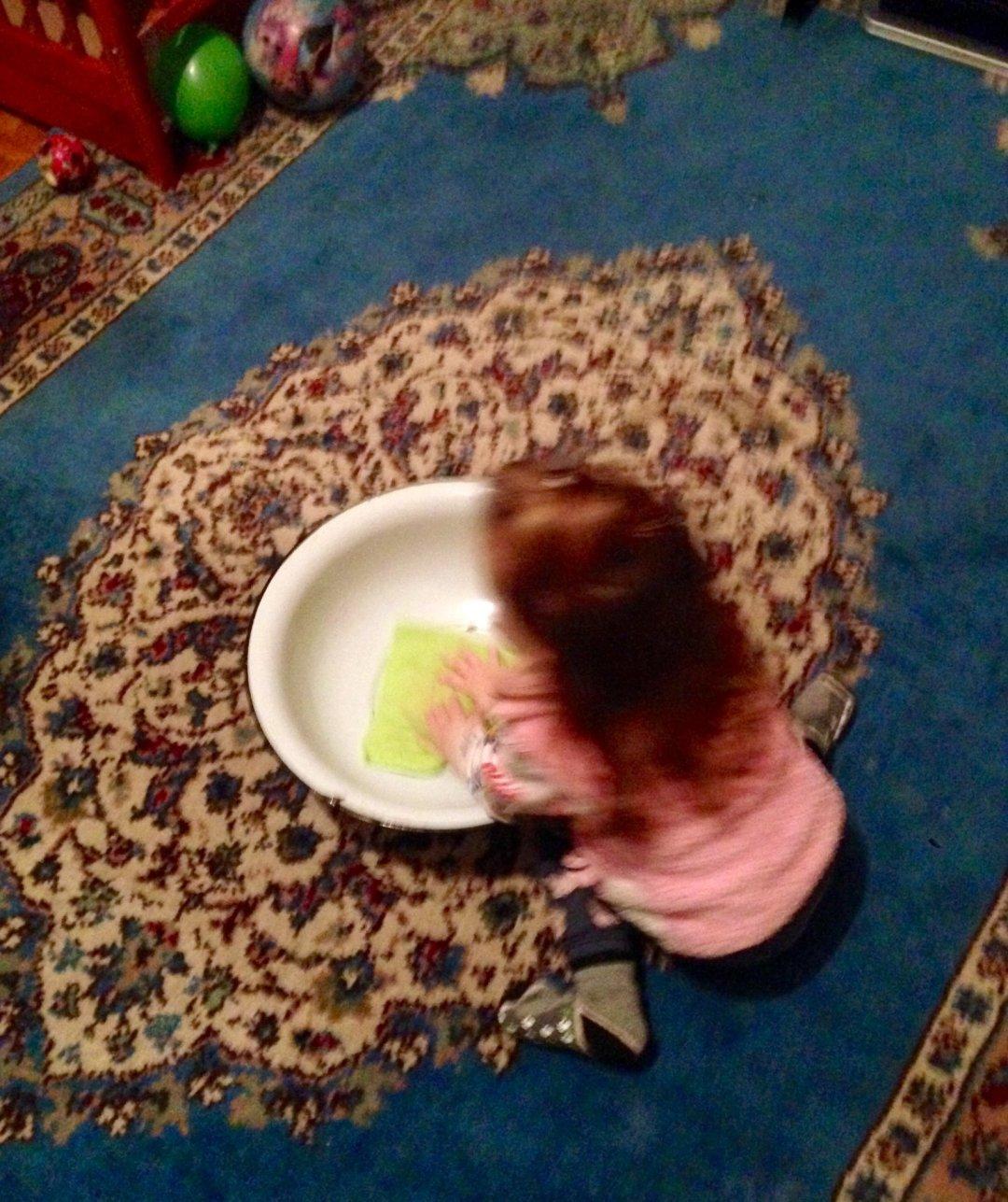 "Отчёт по занятию Предложите ребенку поиграть в игру ""Уборка"" в Wachanga!"