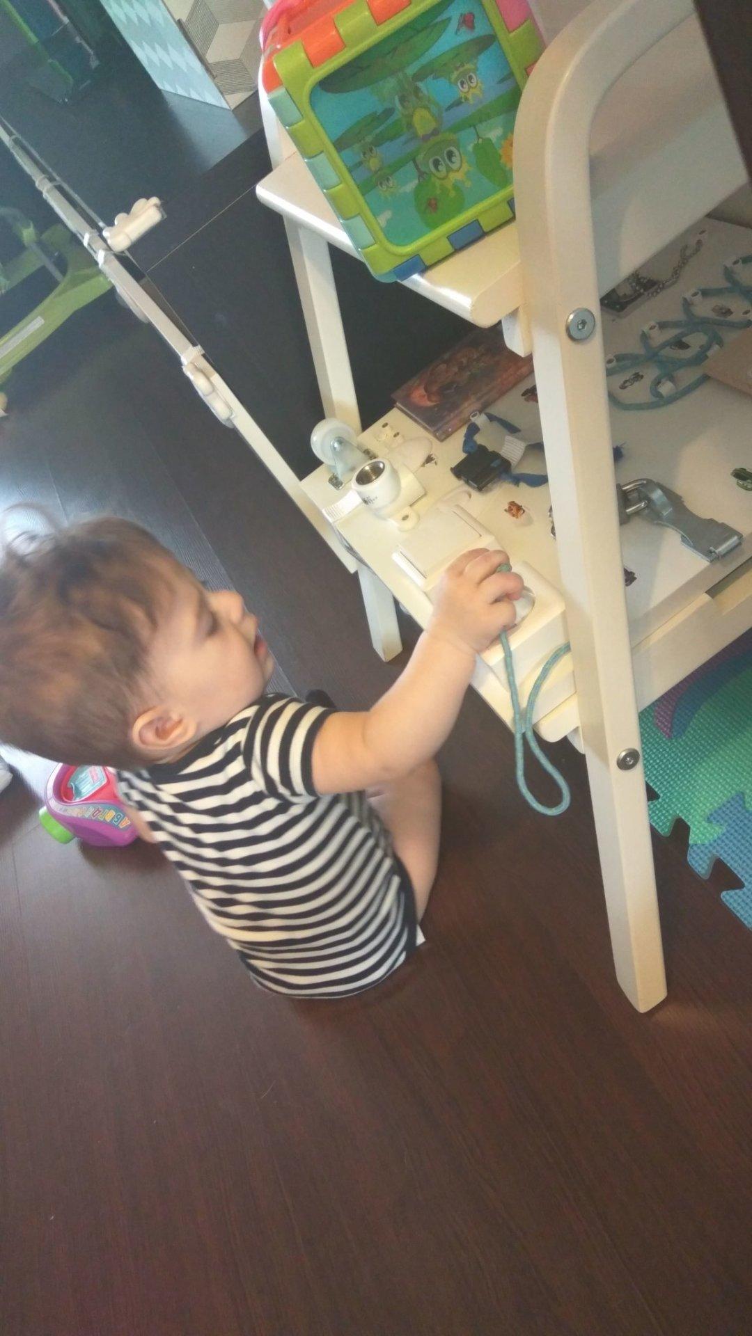 Отчёт по занятию Развивающие игры с ребенком в 7 месяцев в Wachanga!