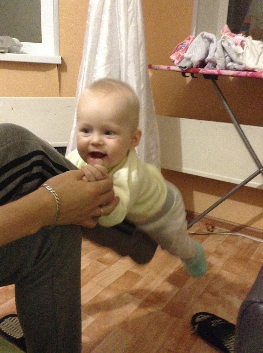 Отчёт по занятию Покачайте малыша на ноге в Wachanga!