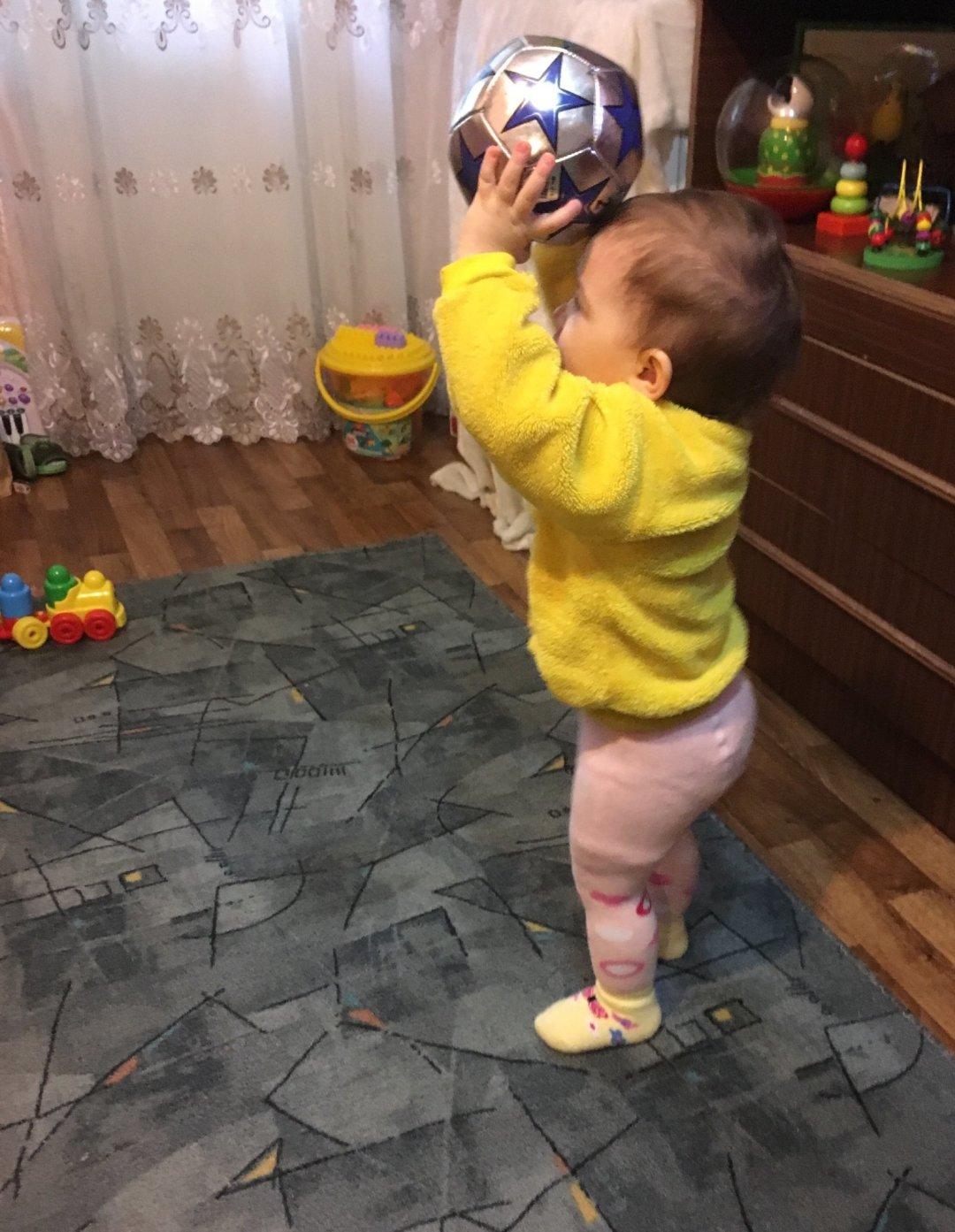 Отчёт по занятию Поиграйте с ребенком в мяч в Wachanga!