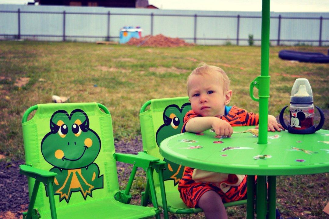 Отчёт по занятию Научите малыша залезать на стул в Wachanga!