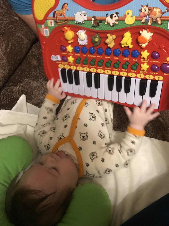 Отчёт по занятию Музыкальные инструменты в Wachanga!