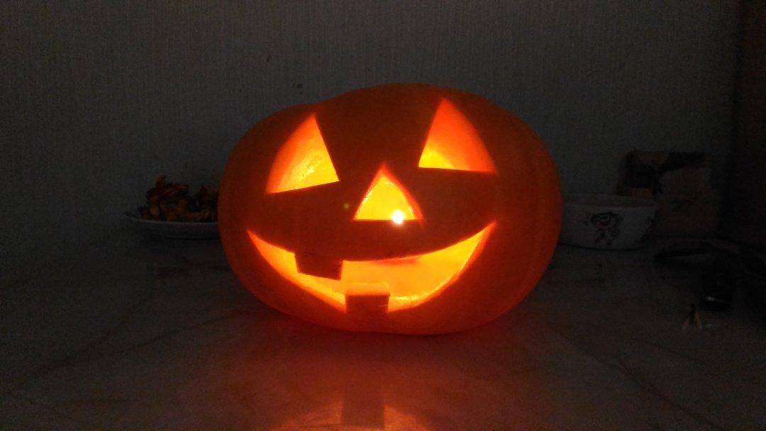 Отчёт по занятию Нарисуйте вместе с ребенком тыкву для Хэллоуина в Wachanga!