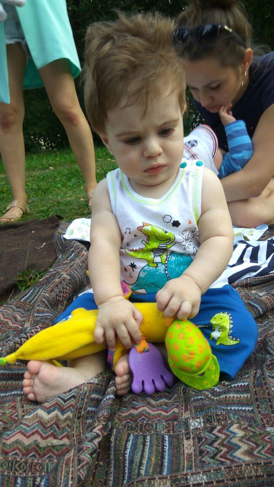 Отчёт по занятию Любимые игрушки вашего малыша в Wachanga!