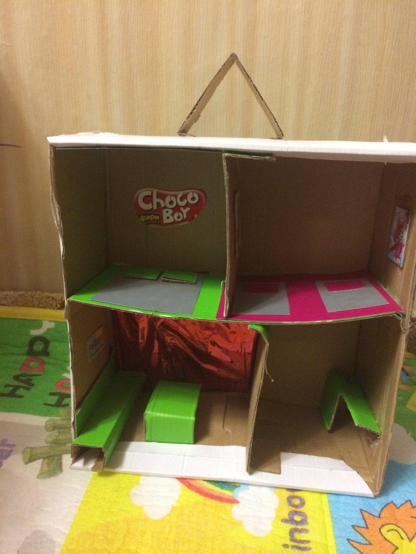 Отчёт по занятию Постройте домик для игрушек  в Wachanga!