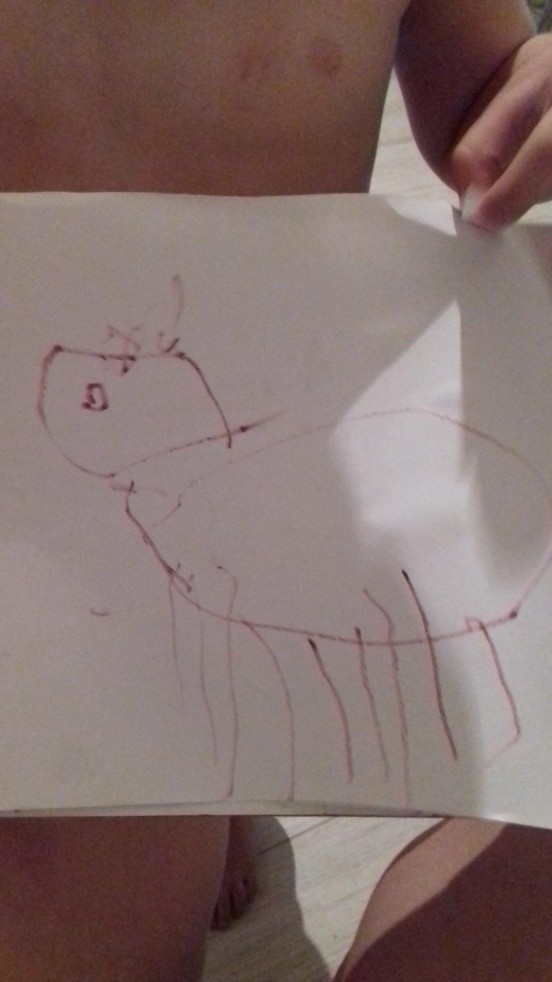 Отчёт по занятию Порисуйте вместе с малышом фломастерами в Wachanga!