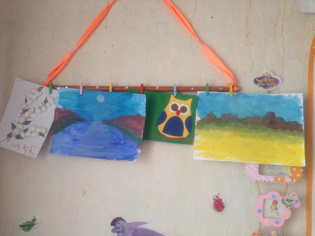 Отчёт по занятию Выставка шедевров малыша в Wachanga!
