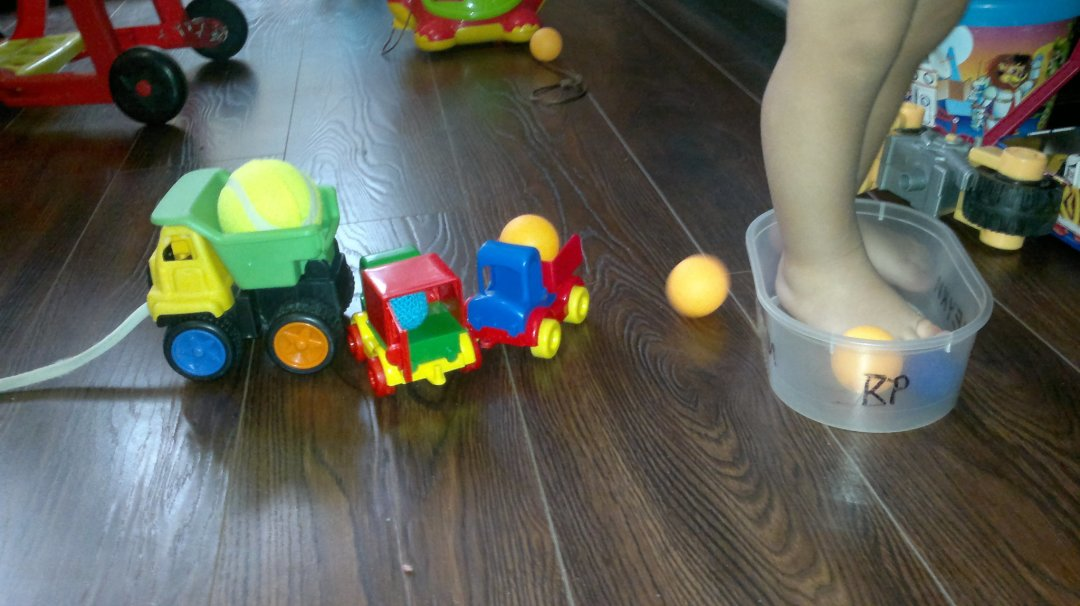 Отчёт по занятию Сортируем шарики в Wachanga!