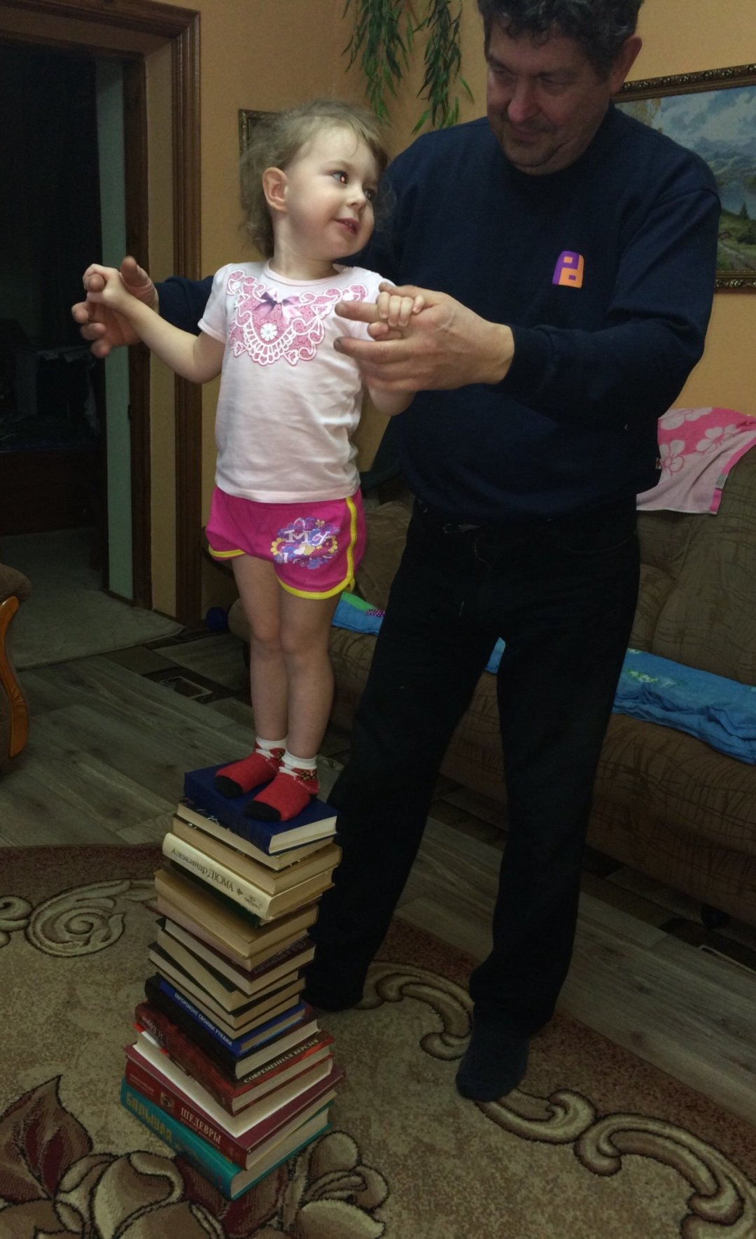 Отчёт по занятию Игра на равновесие «Шагаем по кочкам»  в Wachanga!