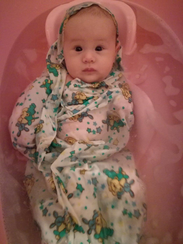Отчёт по занятию Ванночка для малыша в Wachanga!