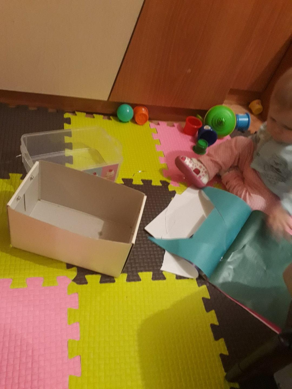 Отчёт по занятию Предложите ребенку поиграть с бумагой в Wachanga!