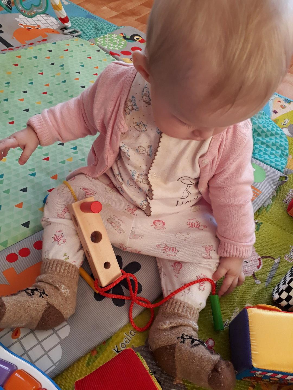 Отчёт по занятию Сделайте для малыша развивающую игрушку в Wachanga!