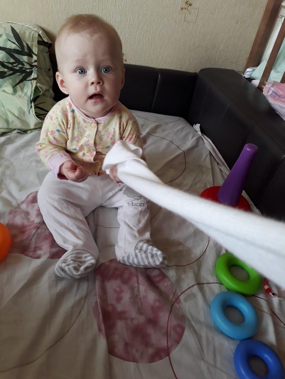 Отчёт по занятию Поиграйте с малышом в «перетягивание каната» в Wachanga!