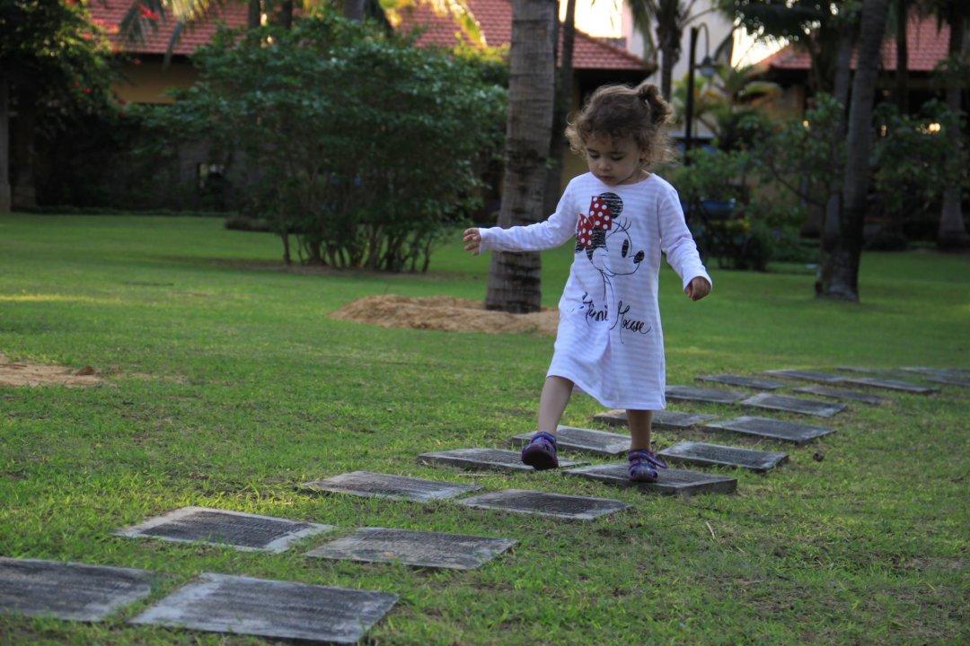 Отчёт по занятию Игра на равновесие «Прыгаем через лужи»  в Wachanga!