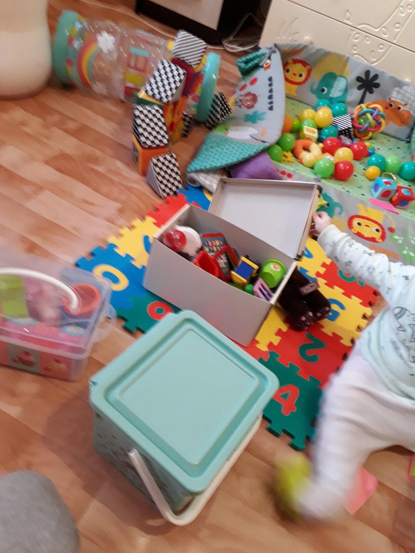 Отчёт по занятию Поиграйте с малышом в игру «Что там?»  в Wachanga!